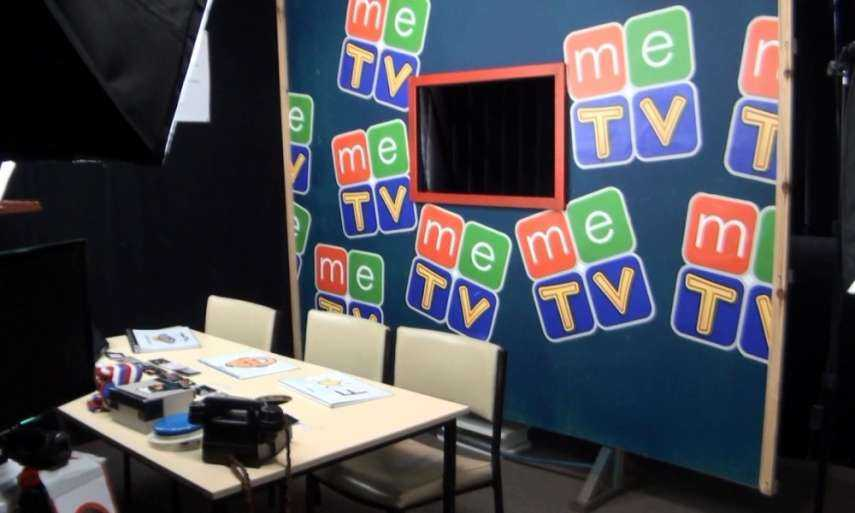 Behind the scenes of meTV