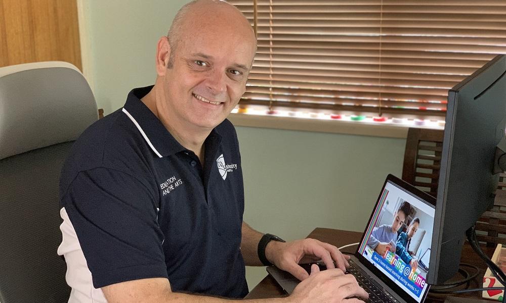 Pre-service teachers assisting remote learning facilitation