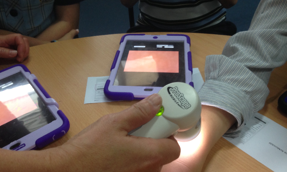 Microscope goes beyond classroom walls