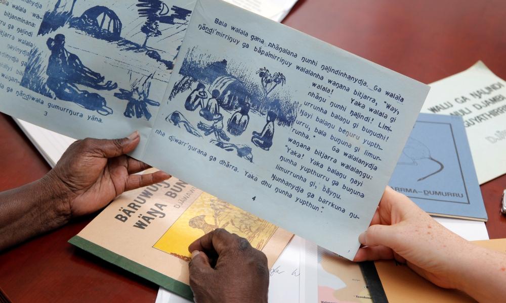 Teacher resources: Indigenous language materials