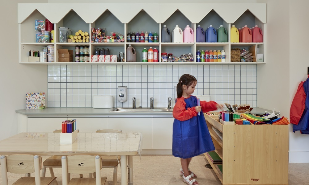 Learning spaces: Learning and play in the early years
