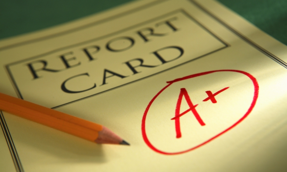 Removing grades from student reports