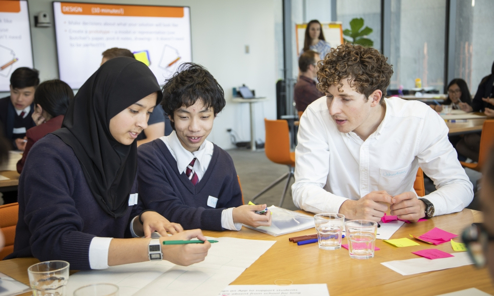 School engagement with business