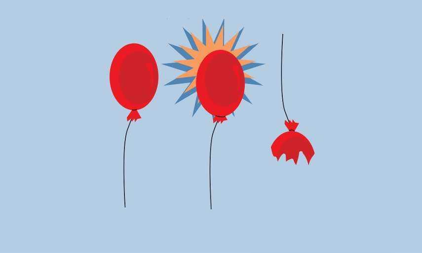 Self esteem: Caution – do not over-inflate