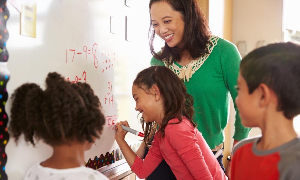 Teacher wellbeing: Practicing mindfulness