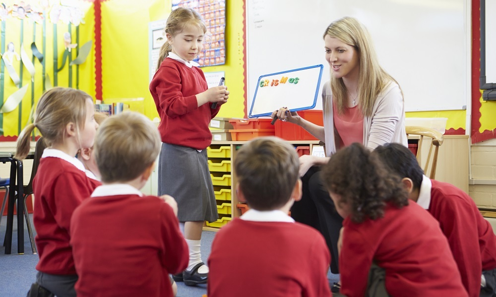 Teachers working with speech-language therapists
