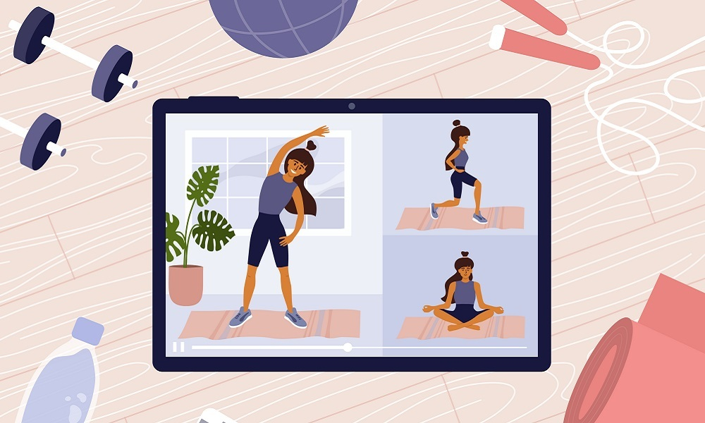 Using digital platforms to maintain fitness
