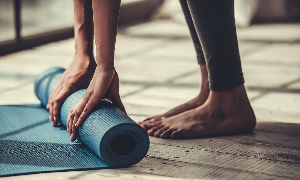 Yoga: putting your own health first