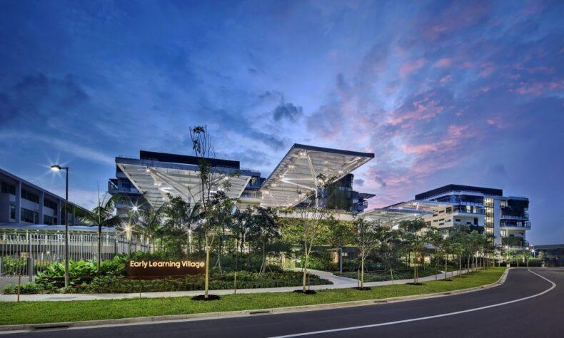 Narasi foto: Ruang pembelajaran usia dini di Singapura