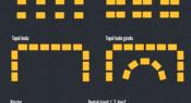 Infografik: Pengaturan tempat duduk di ruang kelas