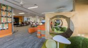 Settling into new learning spaces