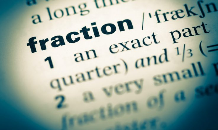 Fractions – getting it right for the wrong reasons