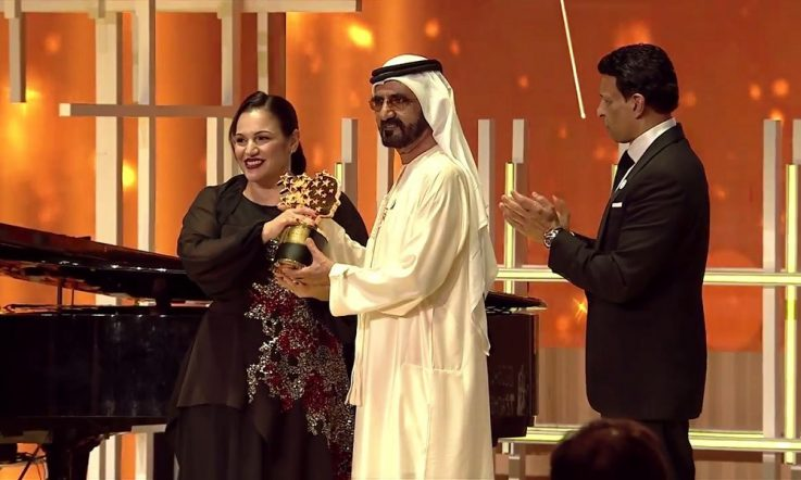 Arts teacher wins 2018 Global Teacher Prize