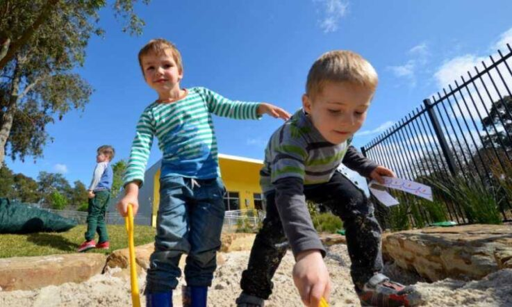 From the sandpit to the classroom