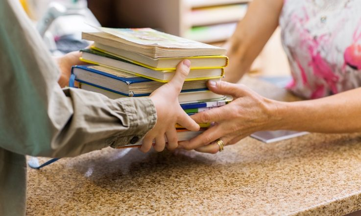 Books most borrowed by students in Australia