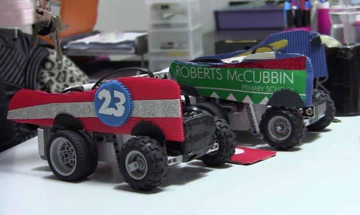 Primary robotics program engages students beyond the classroom