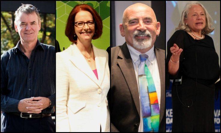 Inspirational teachers: John Hattie, Julia Gillard, Dylan Wiliam and Nancie Atwell