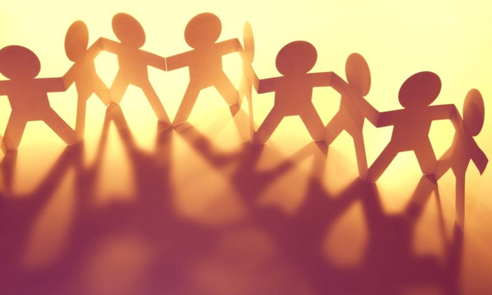 Behaviour management: Standing together