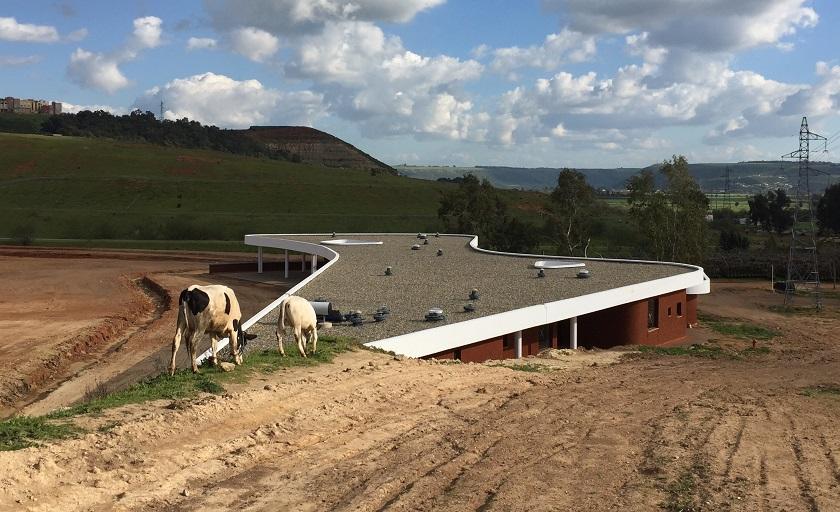 The new staffroom at Macgregor Primary School