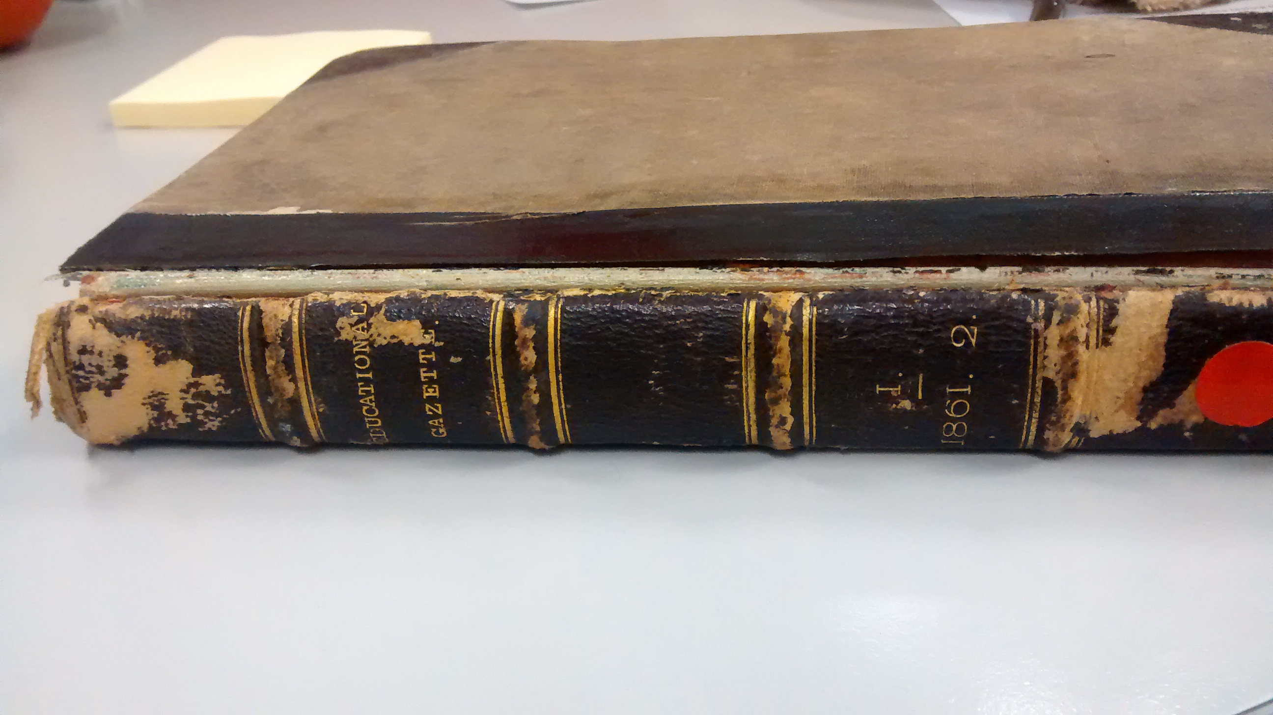 Education resource from 1862