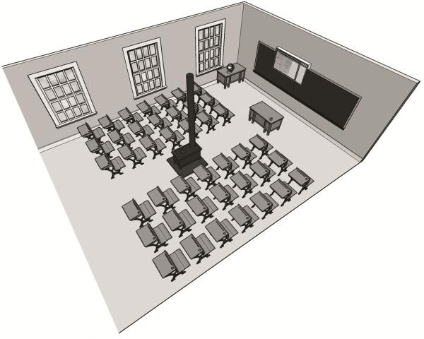 School room house
