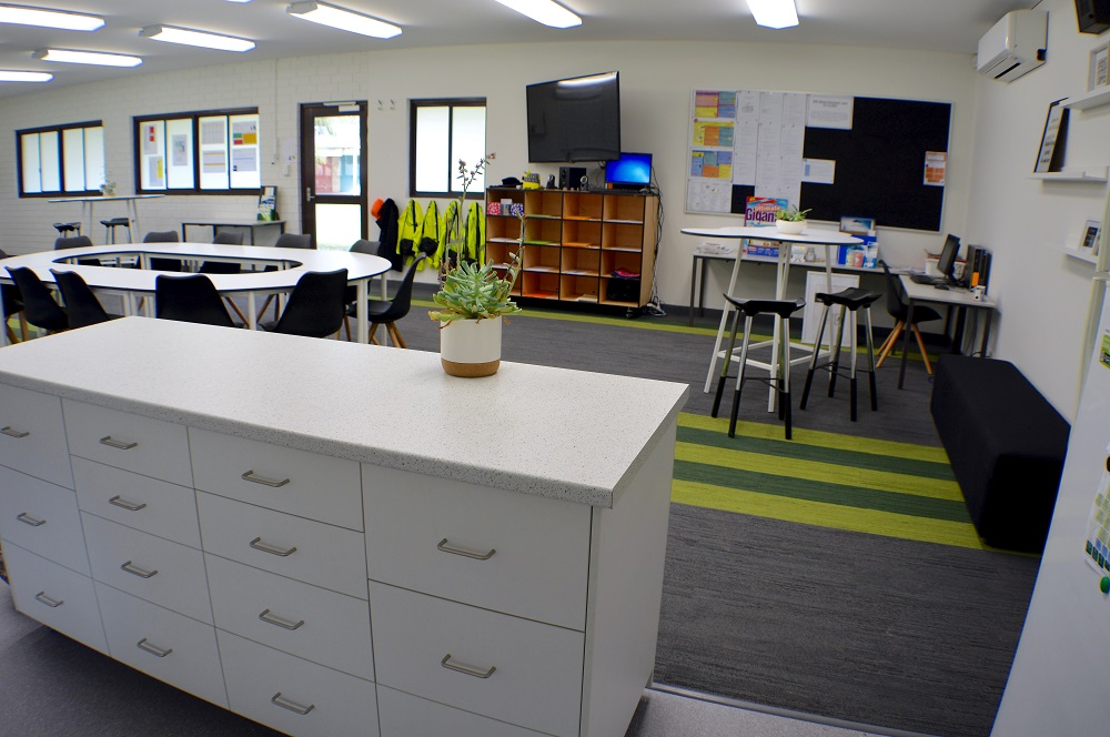 the importance of the school staffroom   teacher its important to kerimofski that the space demonstrates to staff that they  are valued in the school community