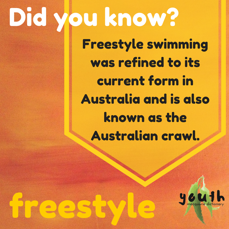 October Word of the month - freestyle