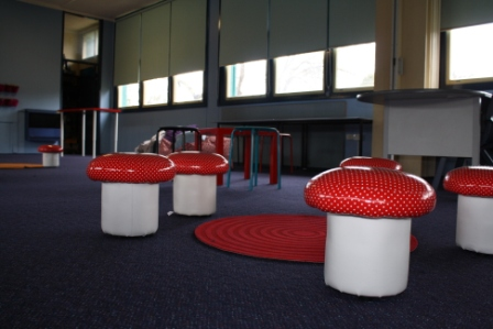 A snapshot of the revamped learning spaces.