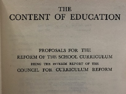 Comprehensive education: a new approach