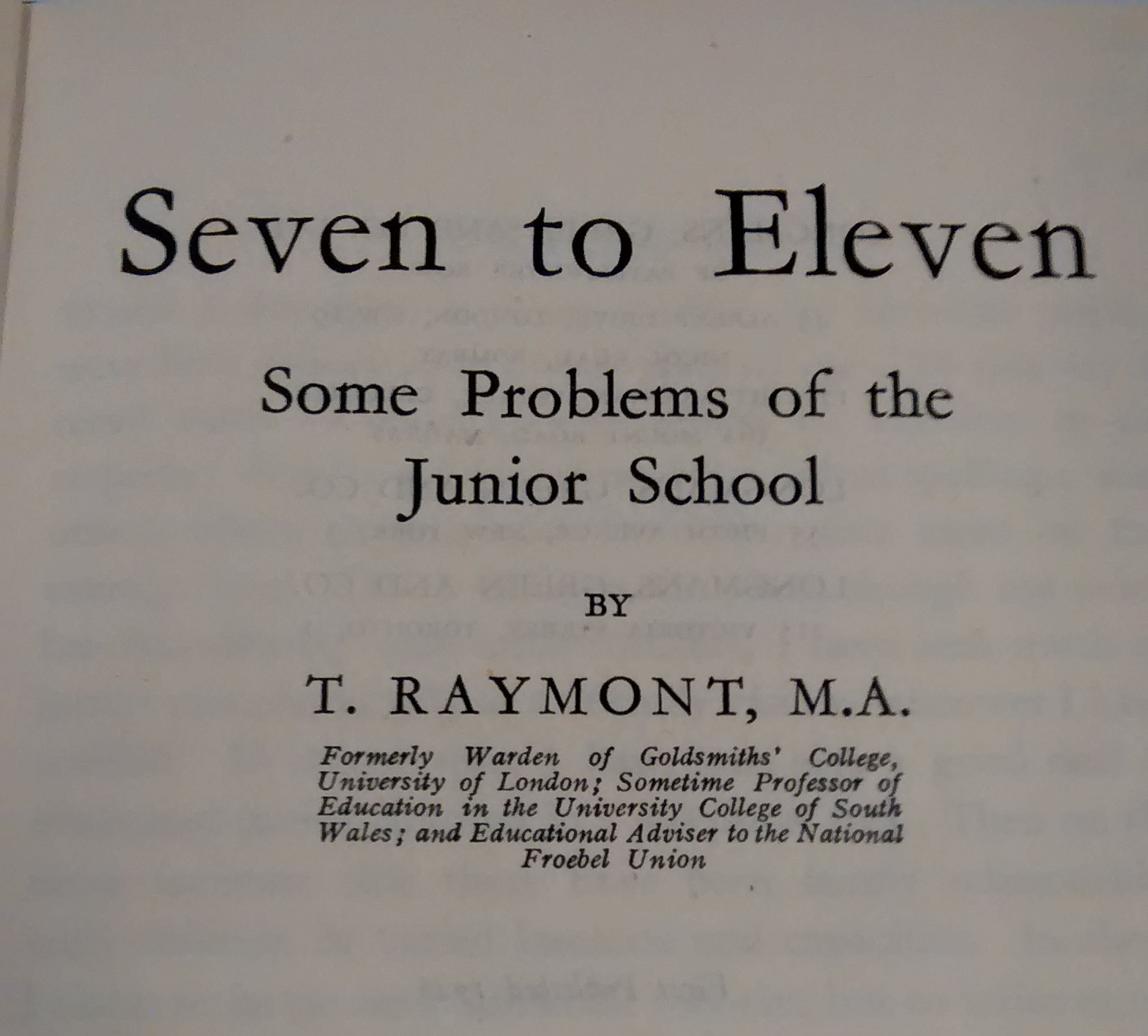 Education text from 1946.