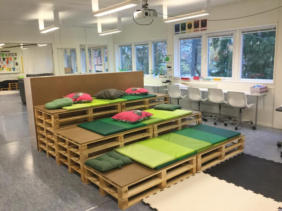 Skapaskolan in Sweden.