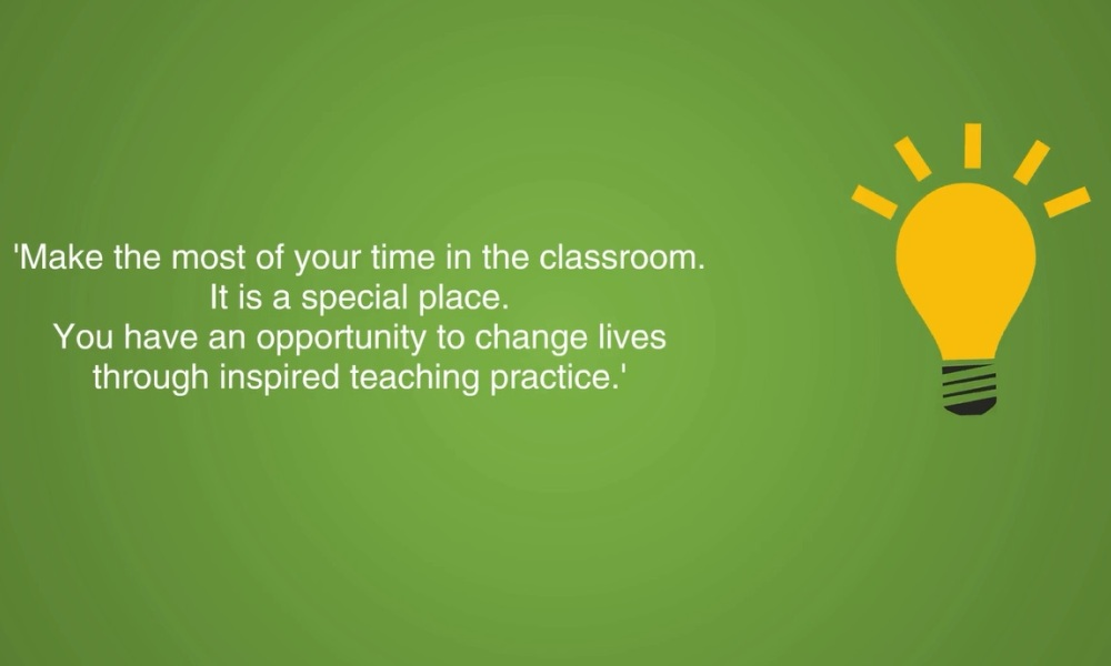 Educators share advice with their peers