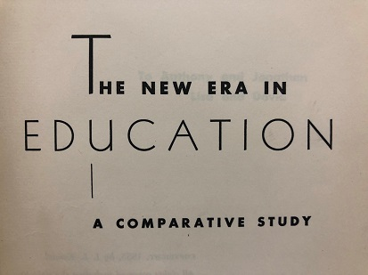 The New Era in Education