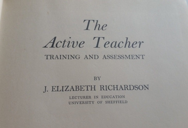 The active teacher.