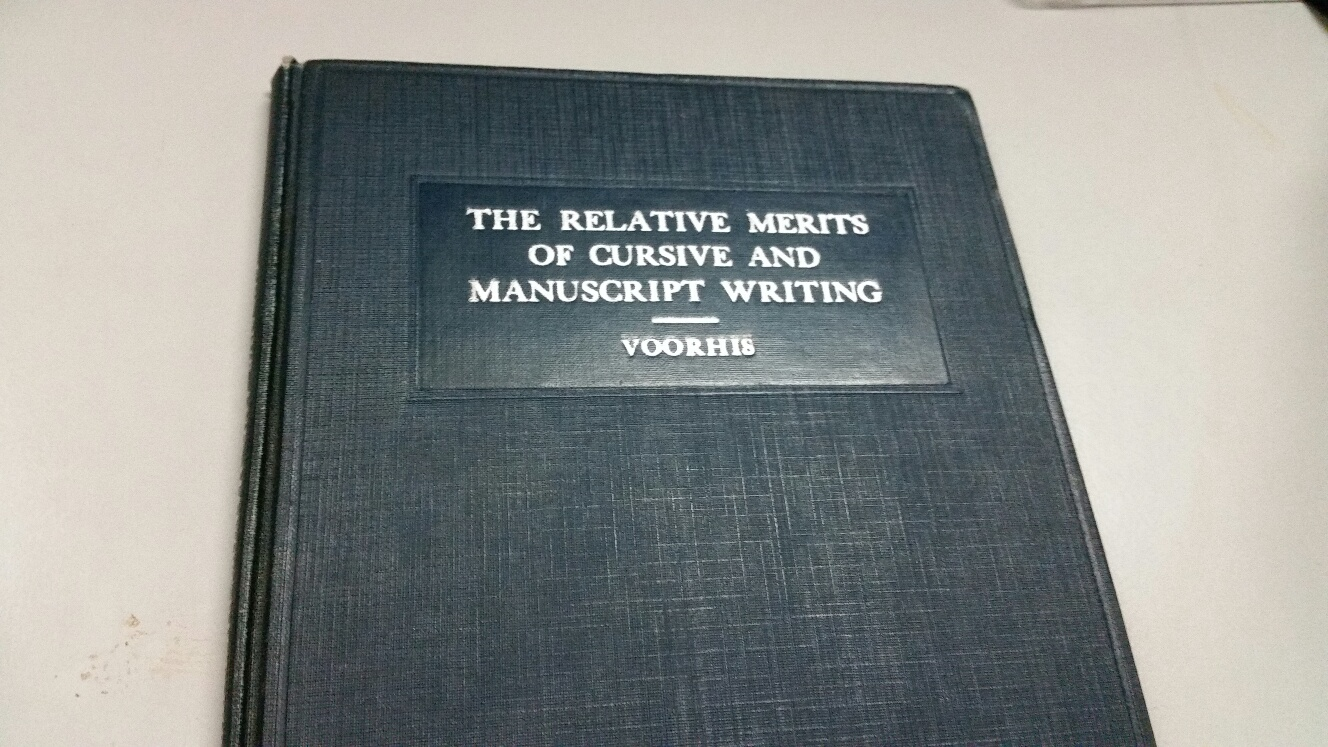 Education book from 1931.