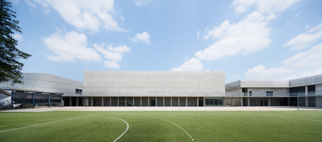 Waseda University Senior High School, Auditorium, Tokyo, Japan.
