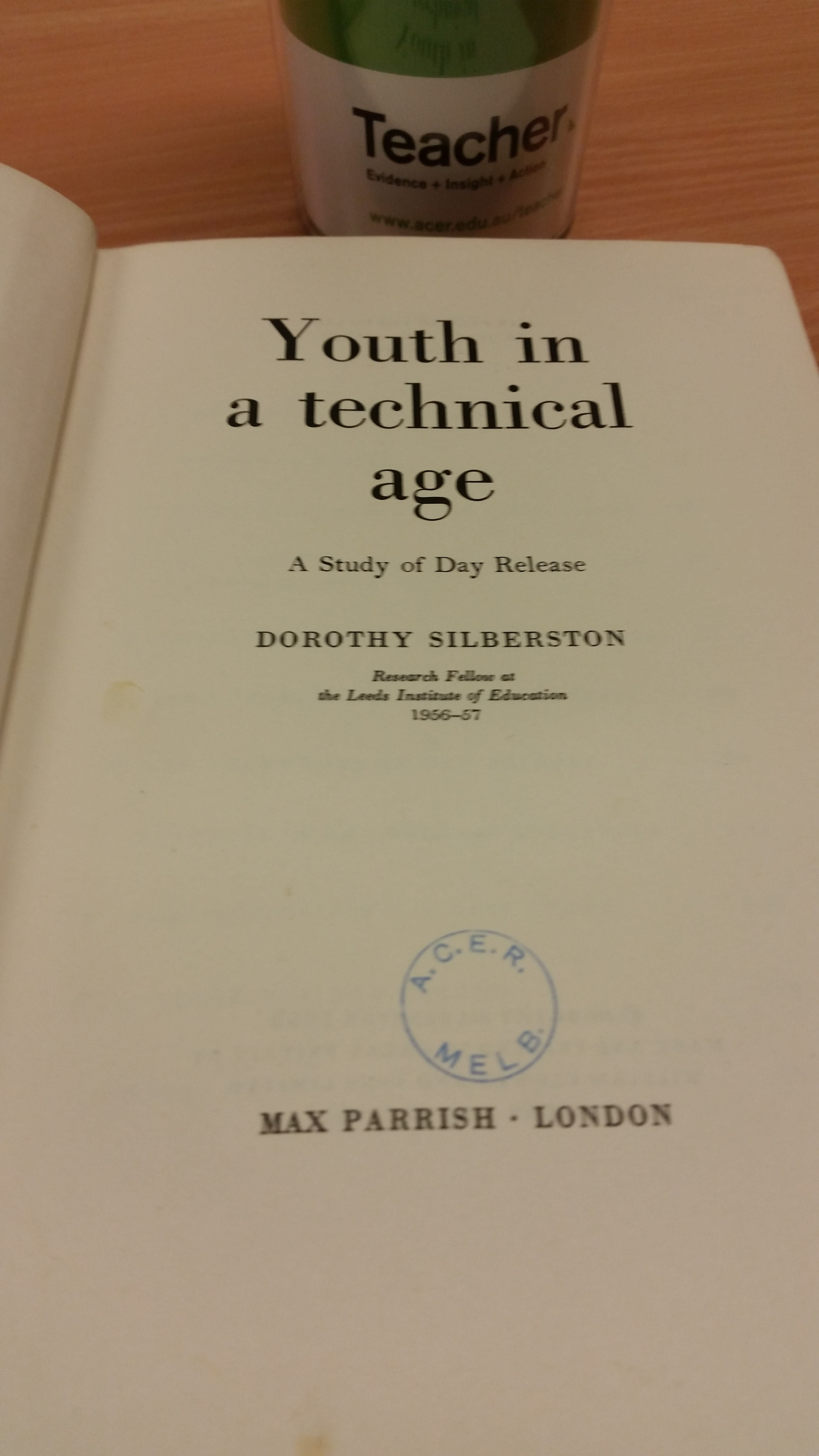Education resource from 1959