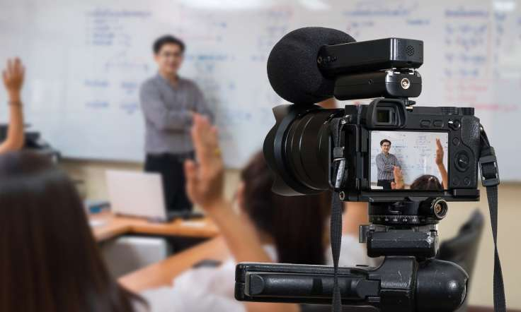 A guide to videoing yourself teach