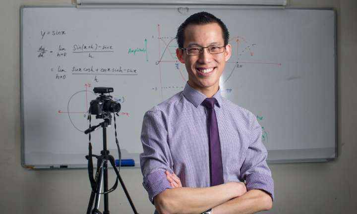 Global Teacher Prize: Eddie Woo on reducing students' maths anxiety