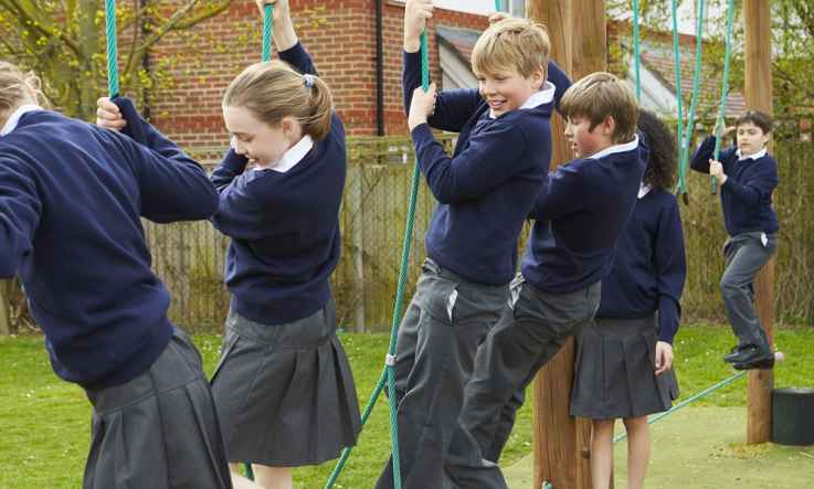 Encouraging physical activity at school