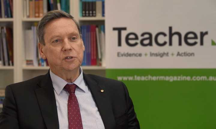 Thinking differently about assessment with Professor Geoff Masters