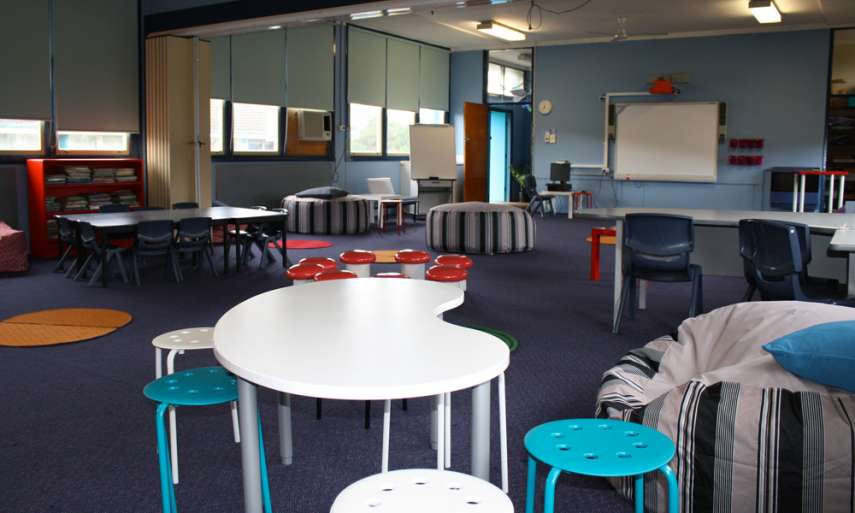 Learning spaces: Moving past tradition