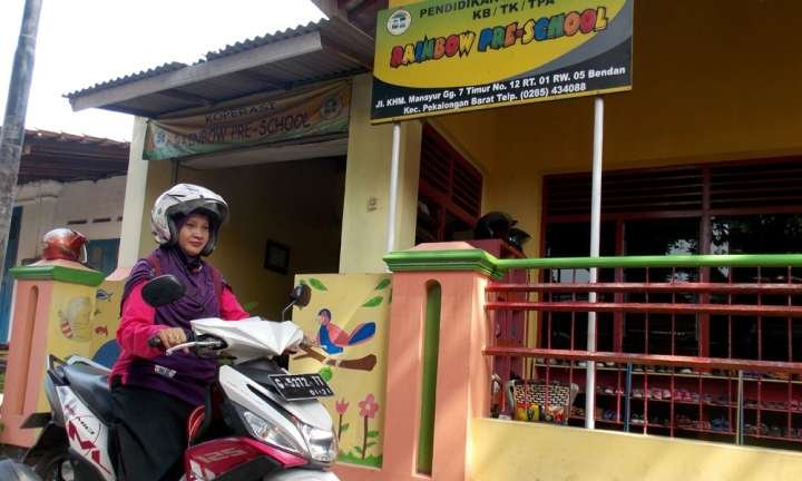 Indonesian teacher earns global recognition