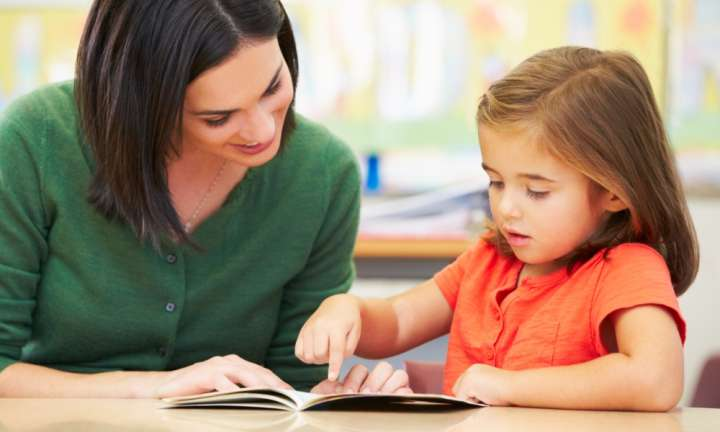 Teaching reading with synthetic phonics