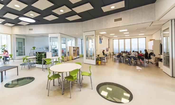 Learning spaces: an international perspective