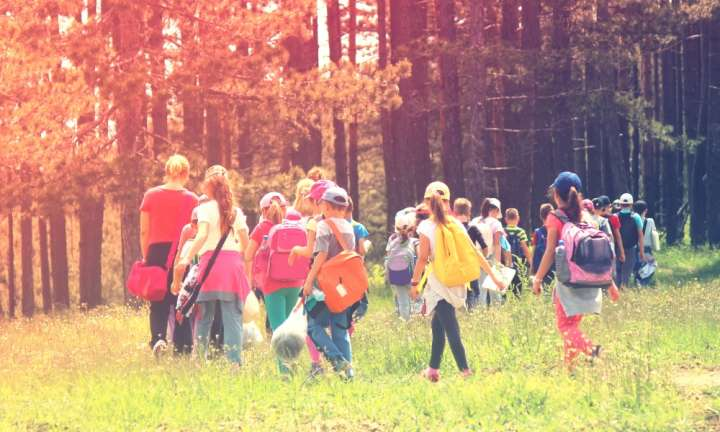 Outdoor lessons boost classroom engagement