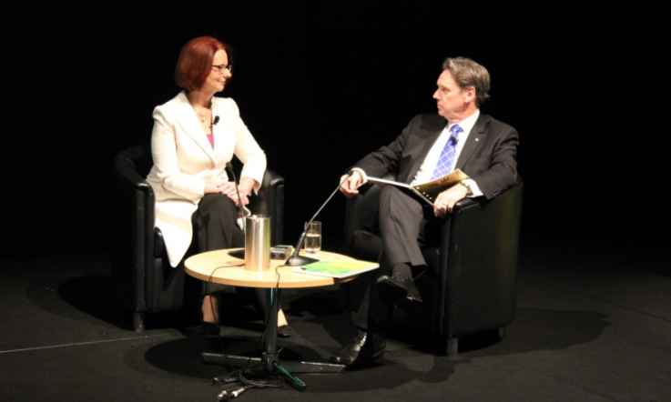 Exclusive: Julia Gillard and Geoff Masters