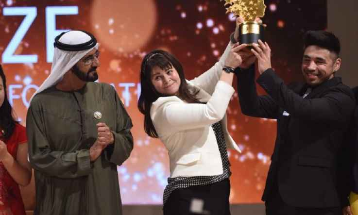 Canadian educator wins $1 million prize